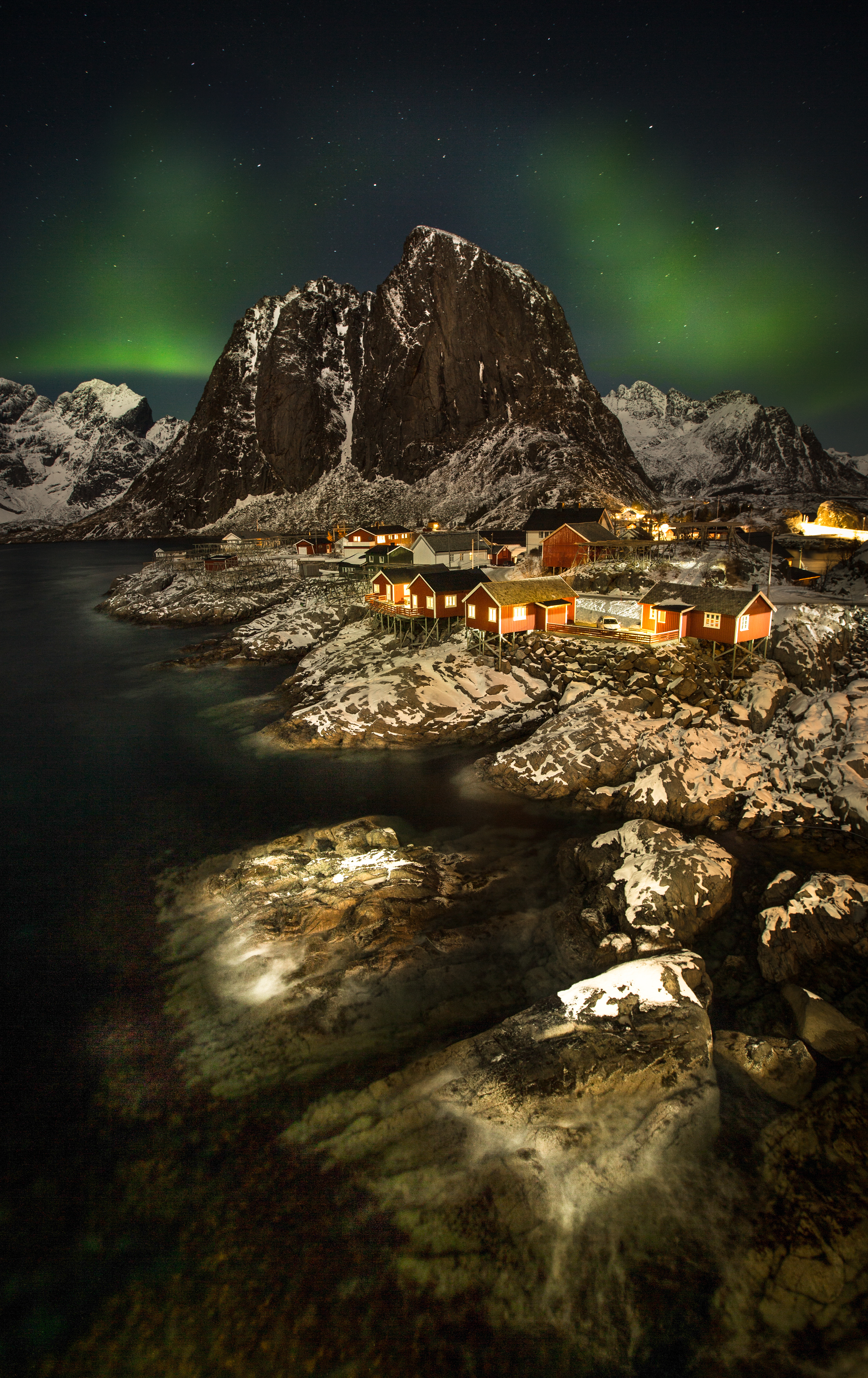 The best time for northen lights in Norway