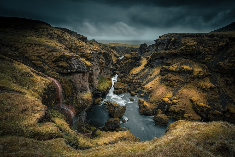 Skogarfoss Canyon, hidden gem for photographers